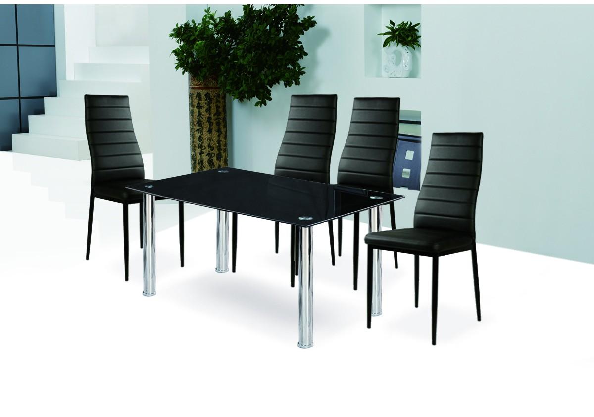 ensemble table et chaise de cuisine trendy cdiscount chaise de cuisine cdiscount ensemble table. Black Bedroom Furniture Sets. Home Design Ideas
