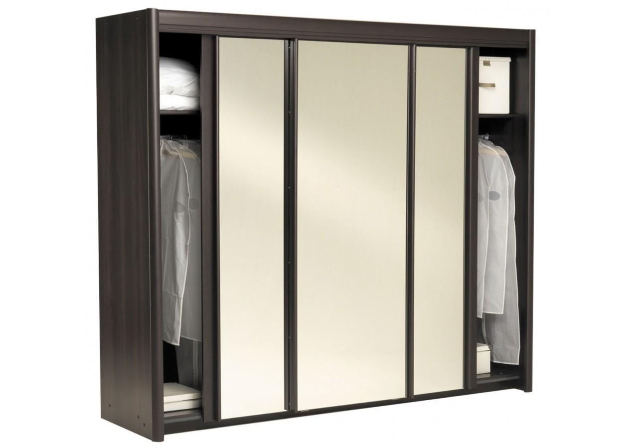 armoire wenge. Black Bedroom Furniture Sets. Home Design Ideas