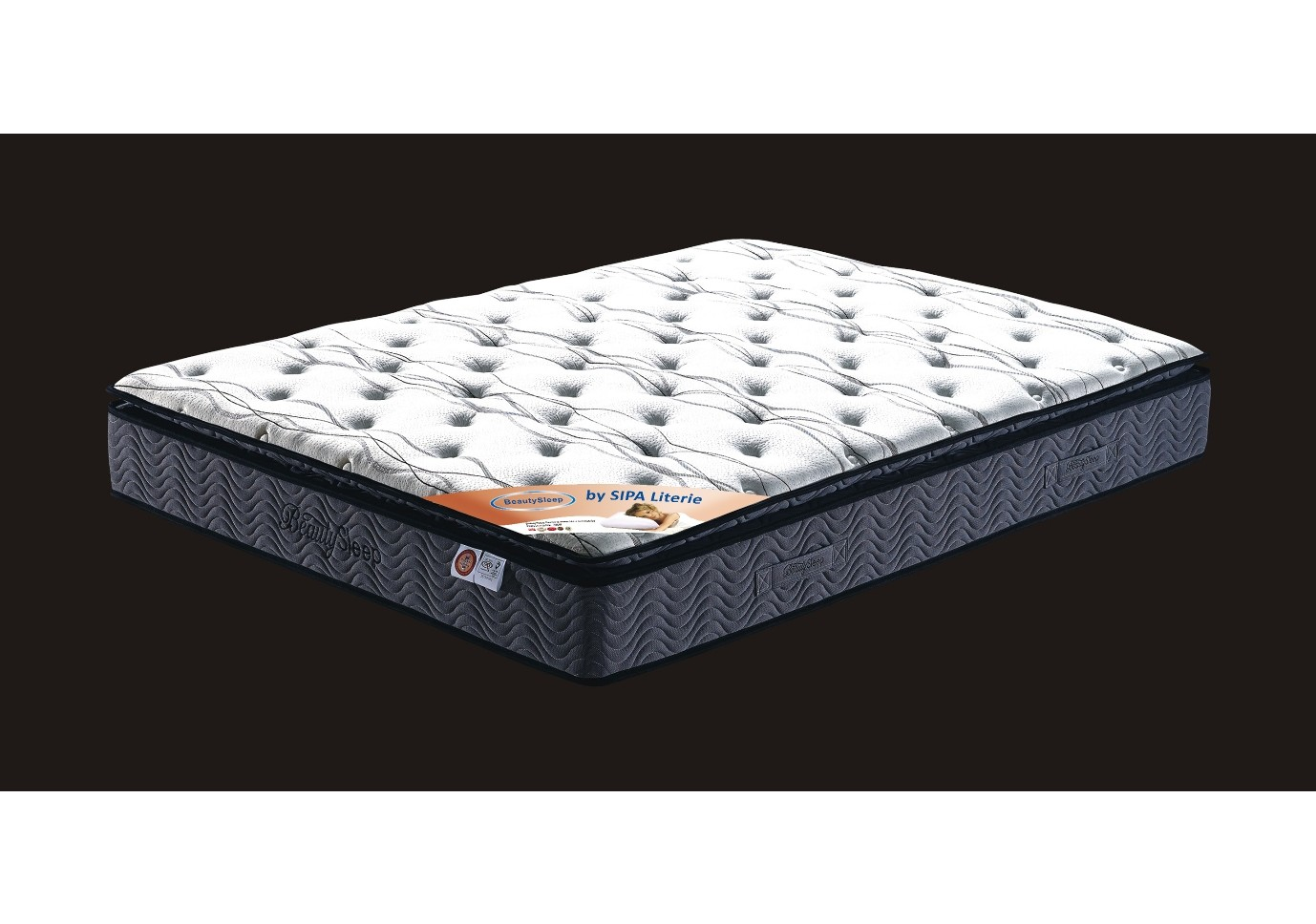 matelas ressort 160x200 matelas ressorts x cm softy prix promo uac with matelas ressort 160x200. Black Bedroom Furniture Sets. Home Design Ideas