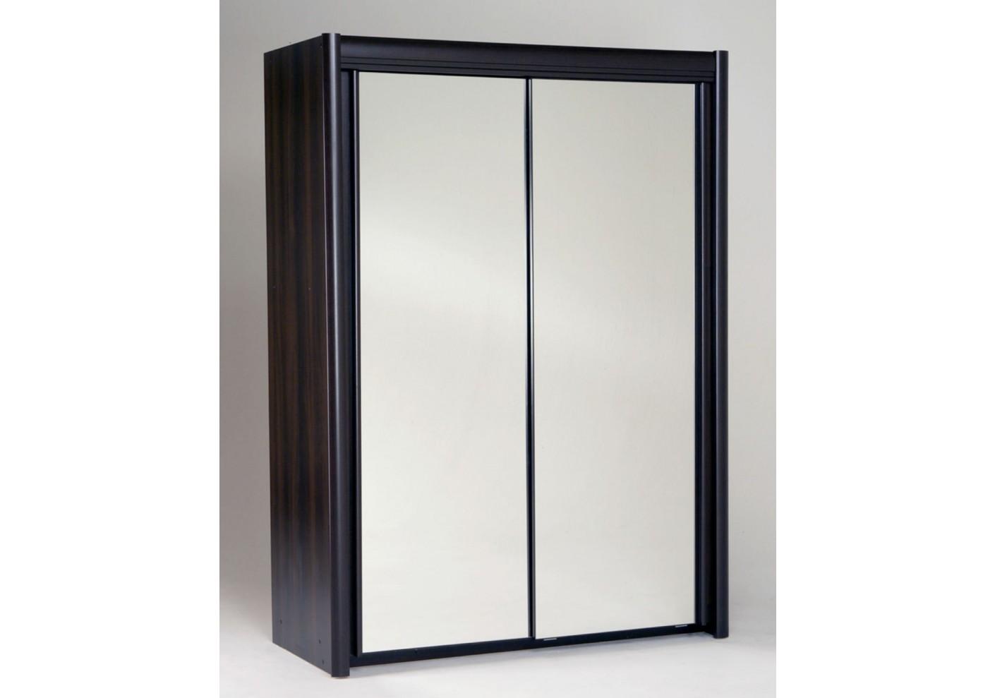 #535761 Armoire 2 Portes Coulissantes CARLA Wengé Promotions 1041 armoire portes coulissantes montage 1410x989 px @ aertt.com