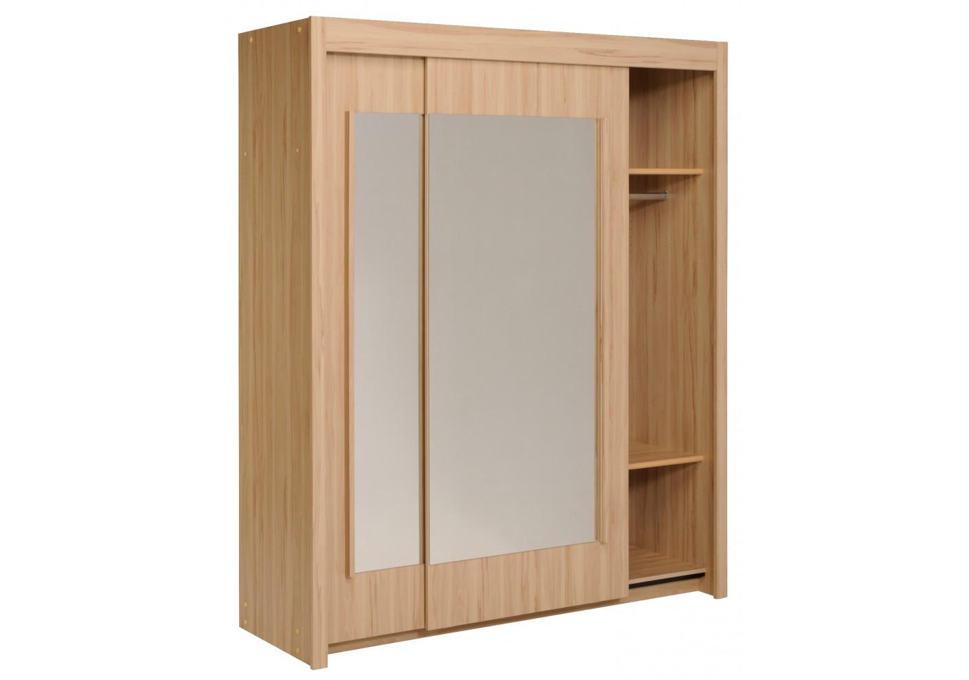 #402412 Armoire 2 Portes Coulissantes ESSENTIAL180 Hêtre  1041 armoire portes coulissantes montage 1410x989 px @ aertt.com