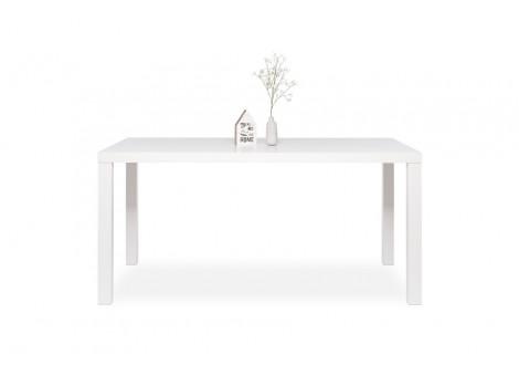 Table de salle à manger PRIMO blanc mat