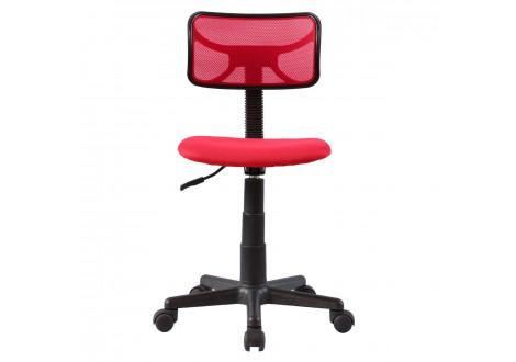 Chaise de bureau enfant ÉLITE rouge