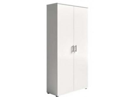 Armoire 2 portes PANOKIT blanc