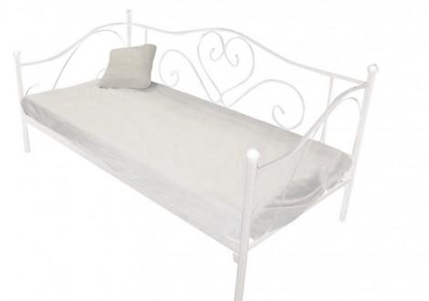 Banquette lit 90X190 ELISA blanc