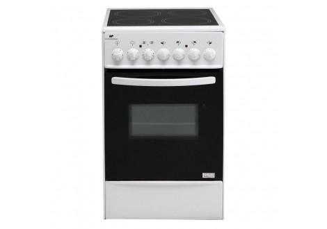 Cuisinière vitrocéramique 4 foyers CONTINENTAL EDISON (CVMC5060W) blanc