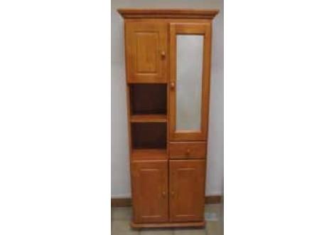 Armoire de salle de bain 4 portes/1 tiroir MISSION cherry
