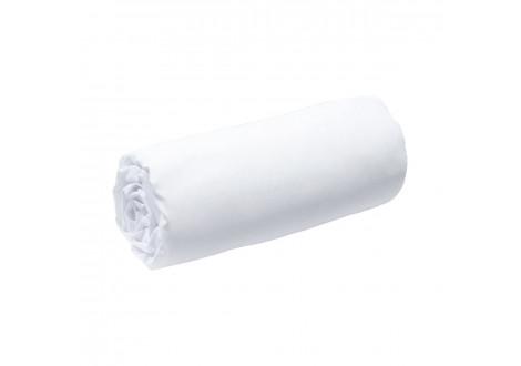 Drap housse 140x190 blanc