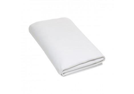 Drap plat 260x300 COTON 57 FILS blanc