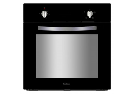 Four encastrable à Gaz BEST KITCHEN 60 litres Noir/inox