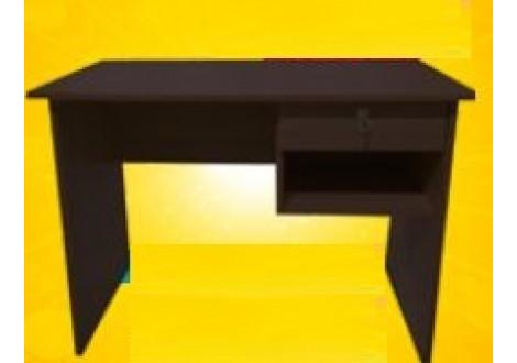 Bureau 1 tiroir HAL Wengé