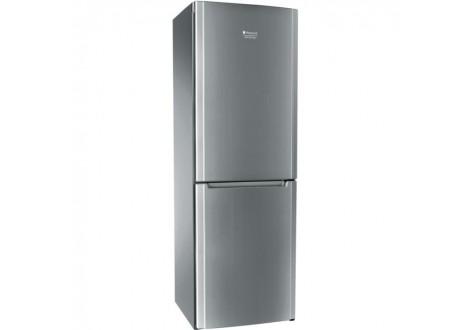 Réfrigérateur congélateur HOTPOINT-ARISTON COMBI 300 litres silver