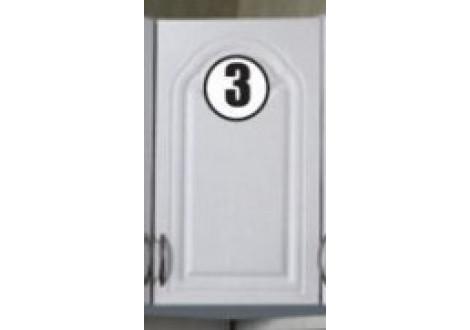 """JEANNETTE N°3 haut 60 """"angle"""" (1 porte)"""