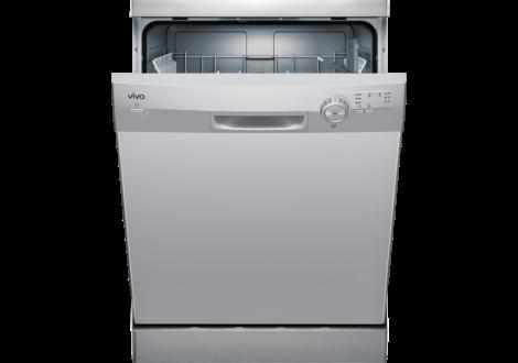 Lave-vaisselle pose libre VIVA 12 couverts silver alu