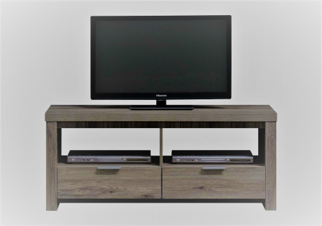 Meuble TV GLEN chêne gris