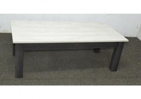 Table basse ORLANDO chêne gris / chêne blanchi
