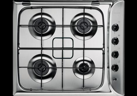 Plaque de cuisson 4 feux gaz INDESIT PIM inox 640IX