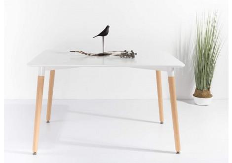 Table salle à manger MALMO blanc