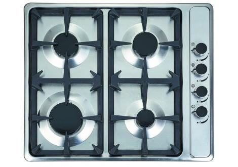 Plaque de cuisson 4 feux à gaz BEST KITCHEN inox