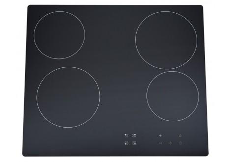 Plaque de cuisson 4 foyers vitrocéramique BEST KITCHEN noir