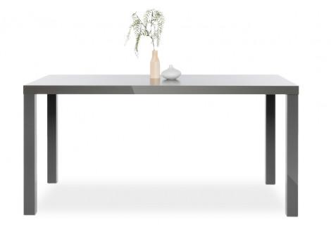 Table PRIMO gris brillant L160