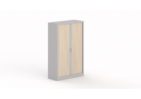 Armoire a rideau STEEL (hauteur 200 cm)