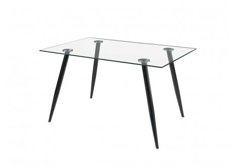 Table  BELLA verre transparent
