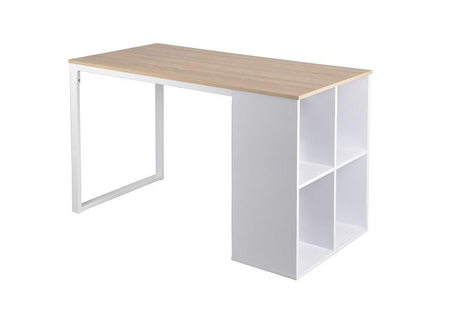 Bureau informatique sven chêne blanc bureaux caissons bureau