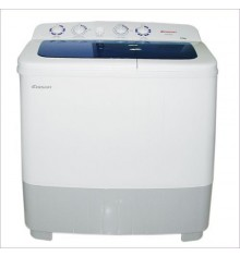 Lave linge plastique MAGIC POINT 10kg / A blanc/bleu