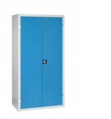 Vestiaire 2 portes métallique multi-fonctions VD-2M gris