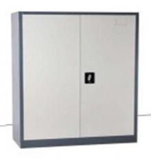 Armoire 2 portes battantes métallique multi-fonctions AR2PB-100 gris clair