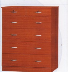 Commode 4+2 tiroirs CHERRY merisier