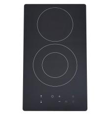 Plaque de cuisson 2 Feux BEST KITCHEN  V23  VITROCERAMIQUE Noir
