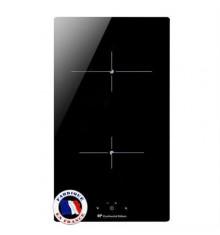 Plaque de cuisson CONTINENTAL EDISON  CP102RP VITROCERAMIQUE 2 Feux Noir