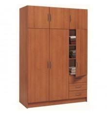 Armoire 3+3 portes/3 tiroirs FOCUS Cerisier