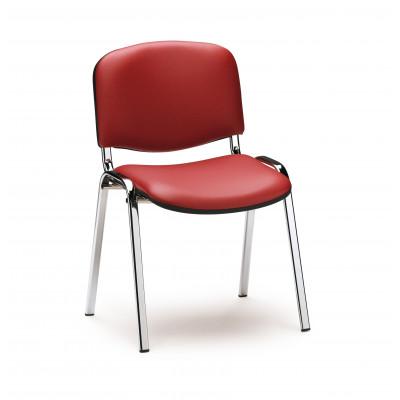 Chaise visiteur  HALL Graphite /Tissu extra