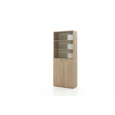 Armoire Haute 2 portes + étagères ARGO