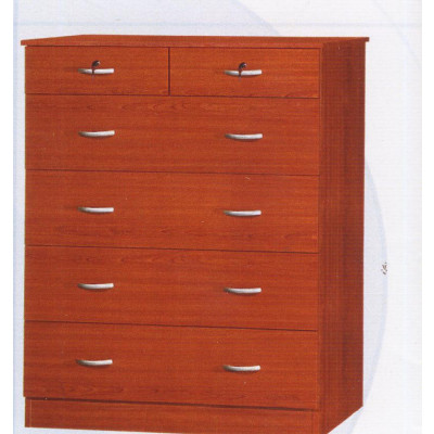 Commode 2+4 tiroirs CHERRY merisier
