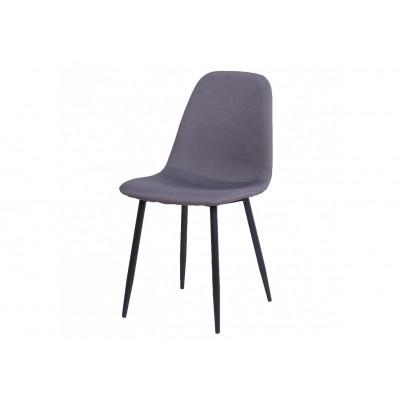 Chaise BELLA tissu gris