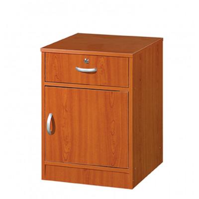 Chevet 1 porte/1 tiroir CHERRY merisier