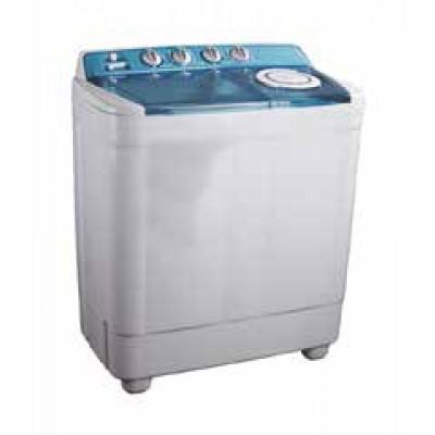 Lave linge plastique MAGIC POINT 8 kg blanc/bleu