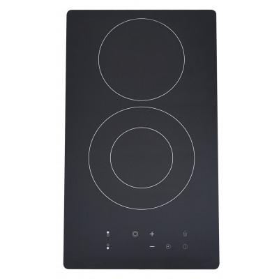 Plaque de cuisson 2 foyers vitrocéramique BEST KITCHEN noir V23