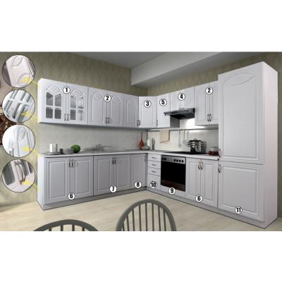 JEANNETTE meuble N°10 - bas 40 4 tiroirs