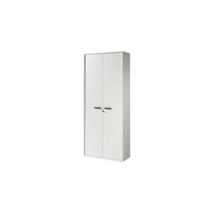 Armoire Haute 2 portes RONTO Blanc