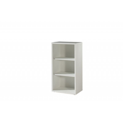 Armoire Basse ouverte RONTO Blanc