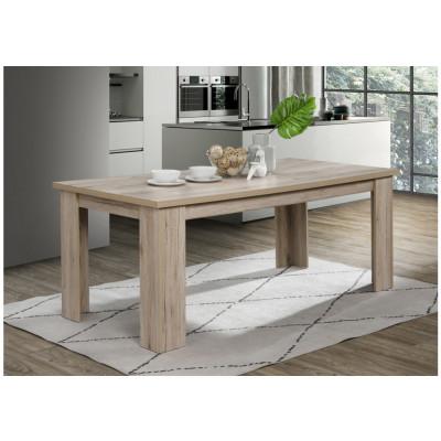 Table salle à manger OLIVER chêne san remo