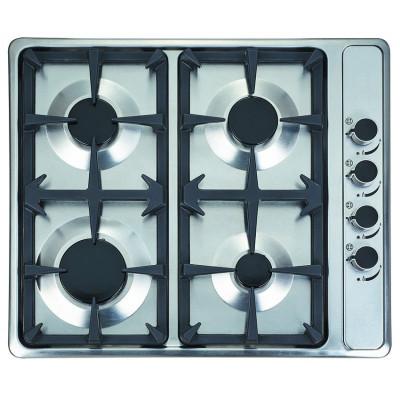 Plaque de cuisson 4 feux à gaz BEST KITCHEN inox IX G52