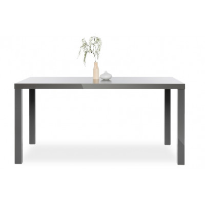 Table PRIMO gris brillant L160