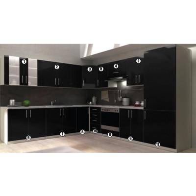 ROMA meuble N°10 - bas 40 4 tiroirs
