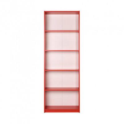 Bibliothèque 5 Niveaux Rouge